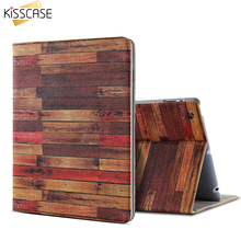KISSCASE Flip Cases For iPad Mini 1 2 3 4 Case For Air 1 2 Case For ipad 2 3 4 PU Leather Smart Sleep Stand Holder Tablet Cases