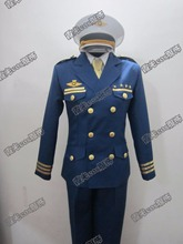 Hot Anime Uta no Prince-sama cosplay Shining Airlines cos Halloween suit Unisex Japanese Uniform Halloween Party(China)