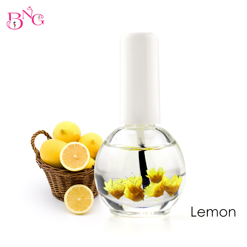 BNG 1pc 14ml Dry Flower Nourishment Oil Nail Cuticle Processing Tools Nutritional Nail Oil UV Gel Nail Treatment Lacquer 12