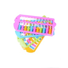 2017 11 Rods Abacus Soroban Beads Column Kid School Learning Aid Tool Math Business Chinese Traditional abacus Educational toys
