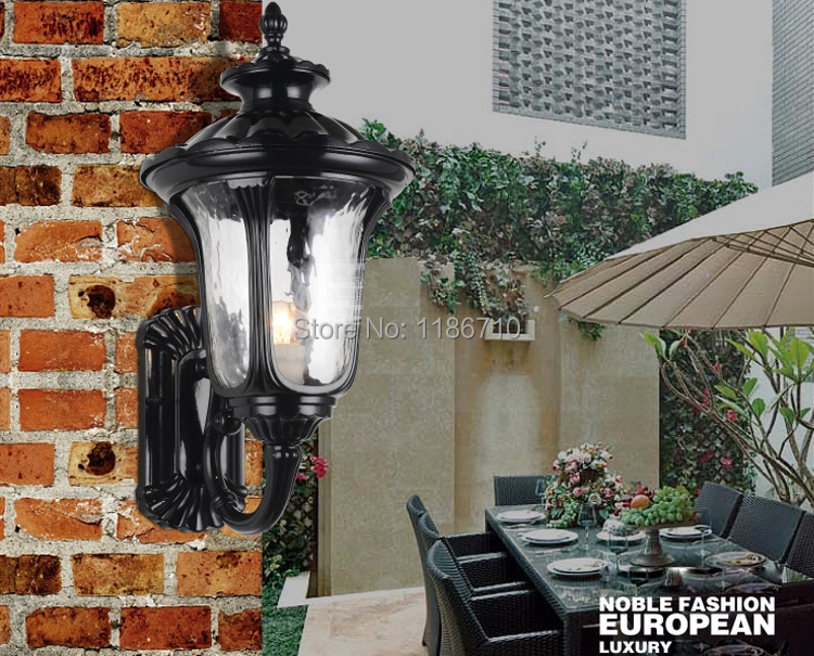 Europe type waterproof columbia european-style wrought iron courtyard lights outdoor wall light  factory outlet<br><br>Aliexpress