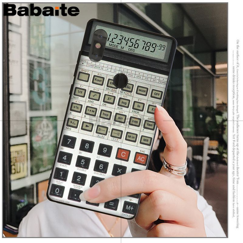 Retro magnetic tape Calculator Keyboard