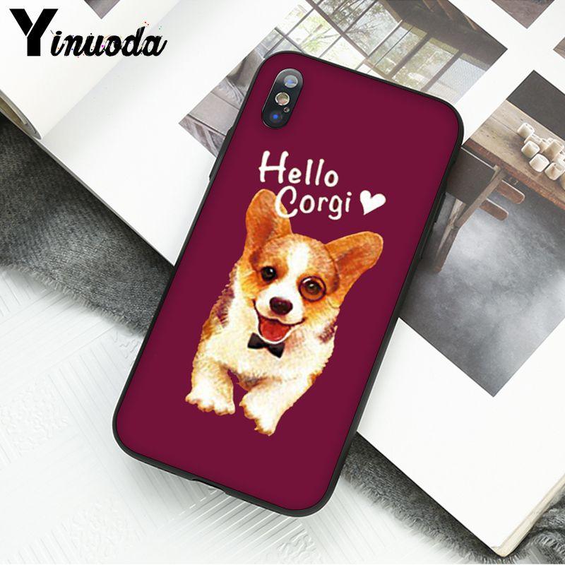 Cute Corgi cartoon Dog