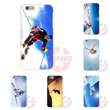 Soft TPU Silicon Pattern Case Cover For Apple iPhone 4 4S 5 5C SE 6 6S 7 7S Plus 4.7 5.5 New Skiing Special