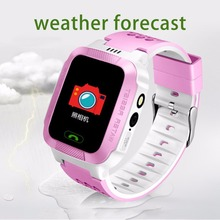 1.4 Inch Colorful Screen Smart Wrist Watch Phone Anti-lost Children GPS Tracker SOS Call Camera Flashlight For Android