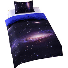 Creative Home Hextile Duvet Cover Set Starry Sky Bedding Sets Soft Bed Sets Single Double Twin Full Queen King Size(China)