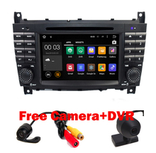 Android 5.1 Car DVD for Mercedes/Benz C Class W203 2004-2007 c200 C230 C240 C320 C350 CLK W209 2005 headunit GPS Radio WiFi 3G