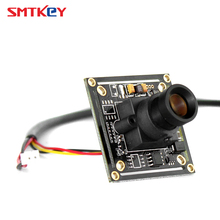 SMTKEY 700tvl 1/3 inch sharp ccd camera board cctv camera sharp chip + lens + Lens mount + cable(China)