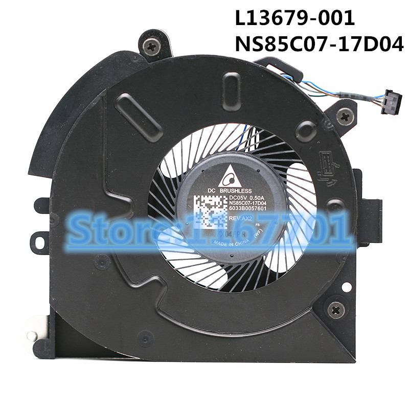 New Original Laptop/notebook CPU Cooling Fan For HP EliteBook 830G5 830 G5 L13679-001 NS85C07-17D04 6033B0057601