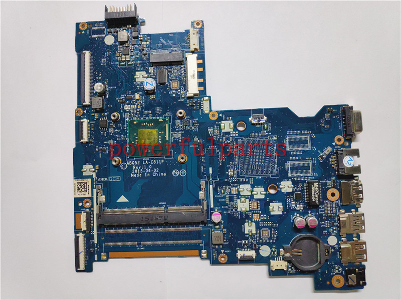 Laptop Motherboard For HP 250 G4 816433-001 816433-501 816433-601 with N3050 CPU 100% working