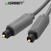 Ugreen Digital Optical Audio Cable Toslink Gold Plated 1m 2m 3m SPDIF Coaxial Cable for Blu-ray CD DVD Player Xbox 360 PS3 AV TV(China)
