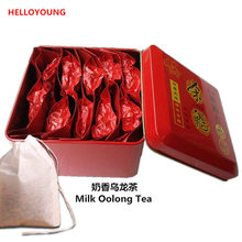 155g 10 packs Superior Healthy Chinese Milk Oolong Tea,Milk TieGuanYin Tea,Green Food Gift Packing Iron cans Packing