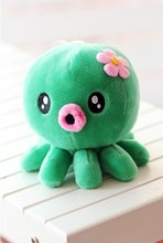 Super! 5pcs/lot 20cm Small octopus doll plush toys wholesale cute wedding doll wedding gift free shipping