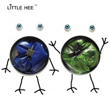 LITTLEHEE Magnetic Putty 2pcs 6 colors  Free eyes Magic sand intelligent Plasticine Mud smart clay slime toys