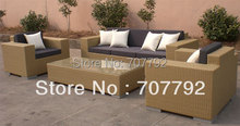 2017 ALL-weather wicker sofa set outdoor furniture royal sofa sets