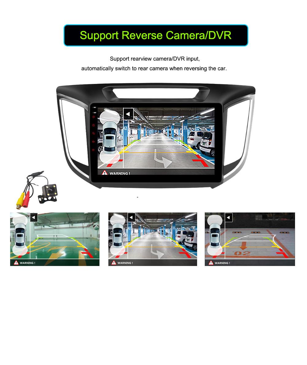 Android 6.0 CAR Audio DVD player FOR HYUNDAI ix25CRETA gps Multimedia head device unit receiver BT WIFI camera
