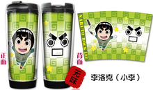 New Japanese Anime Cartoon Naruto Double Heat insulation Eco-Friendly Water Bottles No.00021(China)