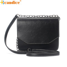 Best Gift Hcandice New Fashion Women Retro Imitation leather Shoulder Bag Satchel Handbag Messenger drop ship bea6613