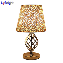 Modern European-style Table Lamp Bedside Bedroom Table Light AC 110V/220V Creative Personality DIY Home Lighting For Living Room