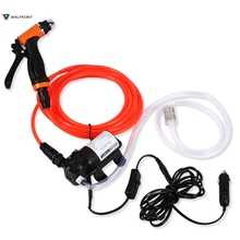 DC 12V Portable Electrical Wash Pump High Pressure Self-priming Quick Car Cleaning Water Pump Electrical Washer Kit(China)