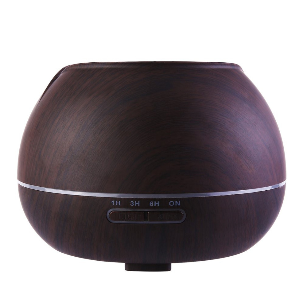 Ultrasonic Aroma Air Humidifier Home Use Aromatherapy Machine Round Air Moistener Food Grade PP ABS Fragrance Lamp<br>