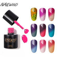 NAILWIND 7ML Professional Temperature Chameleon T01-60 Glitter UV Nail Gel Polish Soak Off Manicure LED Art Design Gel Lacquer(China)