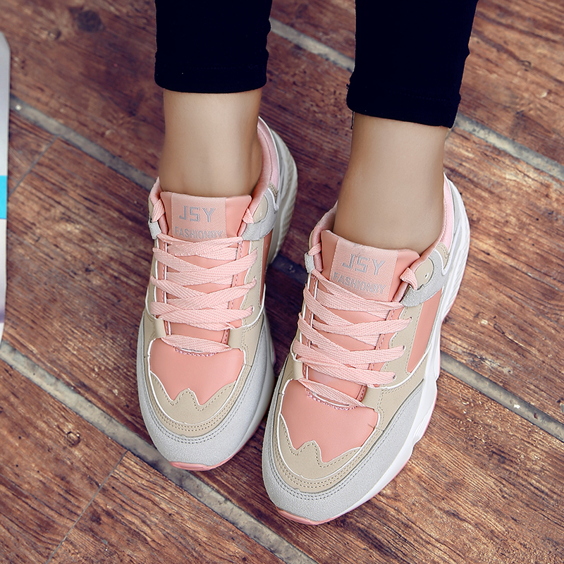 Autumn Running shoes for women sneakers Athletic walking shoes breathable outdoor sport shoes woman zapatillas deportivas mujer 48
