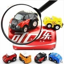 Amazing 4.5cm Stunt Car Infrared radio Remote control Pocket RC Car Christmas gift for KIDS children office desktop(China)