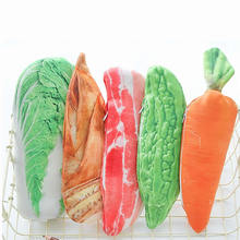 Leisure Plush Pencil Case Kawaii Fruit Vegetable Big Large Pencil Bag For Girls Kids Children Office School Supplie Stationery(China)