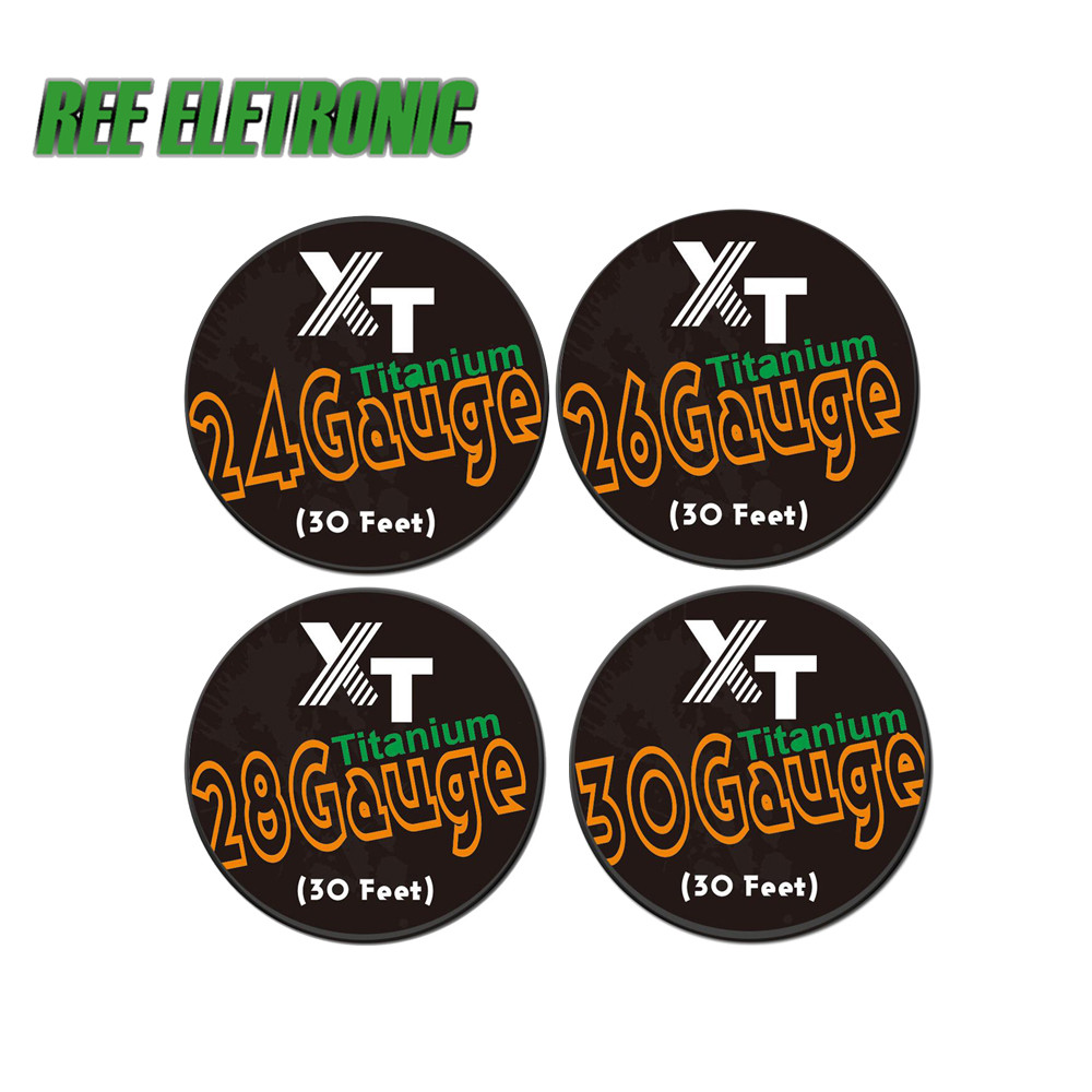 5m/roll 32G 0.3*0.8 Flat Alien Clapton Wire for RDA RBA Rebuildable ...