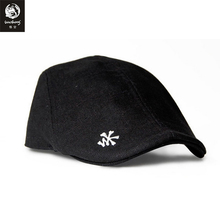 The Wookong 2017 New men baseball caps women youth deep black white back Skull patchwork embroidery M-Y002 free shipping