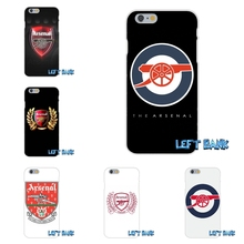 Arsenal Football Club Silicon Soft Phone Case For HTC One M7 M8 A9 M9 E9 Plus Desire 630 530 626 628 816 820(China)