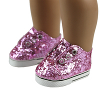 Fashon Shoes For 18inch American Girl Doll 45cm Doll Accessories(China)
