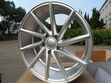 20x10 et 35 5x112 Silver Machine Face Alloy Wheel Rims W013 For Mercedes(China)
