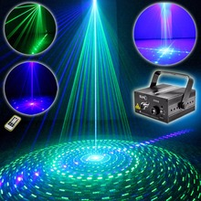 SUNY Laser Light GB 9 Patterns Z09GB Blue LED Stage DJ Home Party Show Karaoke Club Bar Colorful Professional Christmas Music