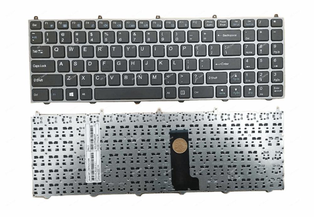 New FOR Clevo Sager NP8155 NP8156 NP8157 Keyboard US Color Backlit Crystal