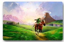 Floor Mat Bath Carpet Living Room LEGEND OF ZELDA Horse 40x60cm Rug Doormat Non-slip For Bedroom Door Mat