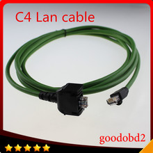 For benz MB star C4 SD CONNECT COMPACT 4 C4 Star Diagnosis car truck tool lan cable Net cable 5meter wifi lan cable
