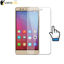 For Huawei Honor 5X tempered glass 9H High Quality Screen Protector Film For Huawei Honor 5X Cell Phone + Free shipping