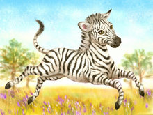 Diy diamond painting cross stitch diamond embroidery children bedroom cute zebra point diamond mosaic painting