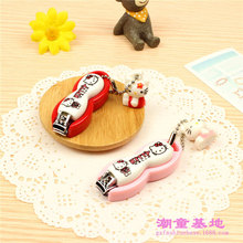 1 pc Hello Kitty cute anime cartoon nail clippers exquisite pendants wholesale nail clippers