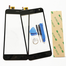 5.0 Touch Screen For Homtom HT3 Touch Panel For Homtom HT3 Sensor Front Glass Lens Touchscreen Repair Parts Free tracking number