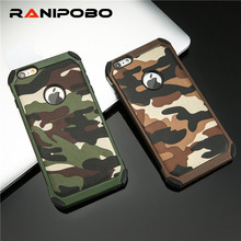 Buy 2 1 Army Camo Camouflage Pattern back cover PC Hard Armor protective phone cases Apple Iphone 7 7 Plus Galaxy Series for $2.28 in AliExpress store