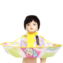 Funny Marine Organisms Print Hair Cutting Cloak Cute Cartoon Pattern Infant Shampoo Capes