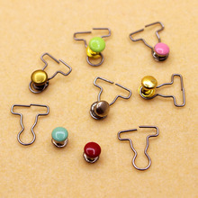 Free shipping 100 pcs/lot color 1/6 BJD doll diy clothes buckle mini 9MM blyth momoko azone(China)