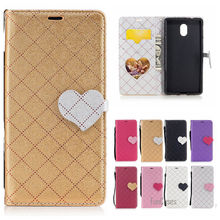 Newest Mixed Color PU Leather Case For Nokia 3 Hit Color flip Caso Capa For Nokia 3 Caixa Telefone Aleta Caja capinha accesorios(China)
