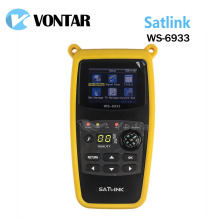 [Genuine] Satlink WS-6933  DVB-S2 FTA  C&KU Band Satellite Finder Meter satlink 6933 WS6933 with 2.1 Inch LCD Display