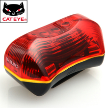 CATEYE TL-LD170-R Bike Bicycle Led Front Rear Light Lamp Flashlight Outdoor Sports Cycling Light Lamp Bicycle Accessories Red(China)