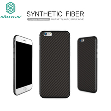For iPhone 6 Case Nillkin imported woven carbon fiber material closely joint with PP back shell For iPhone 6S Mobile Phone Cover(China)