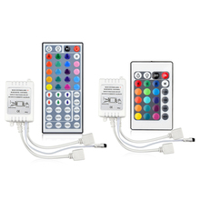 44 Keys or 24 Keys DC12V Dual Output IR Remote RGB Controller lamp Dimmer For 10M 5M 3528 2835 5050 LED Strip light